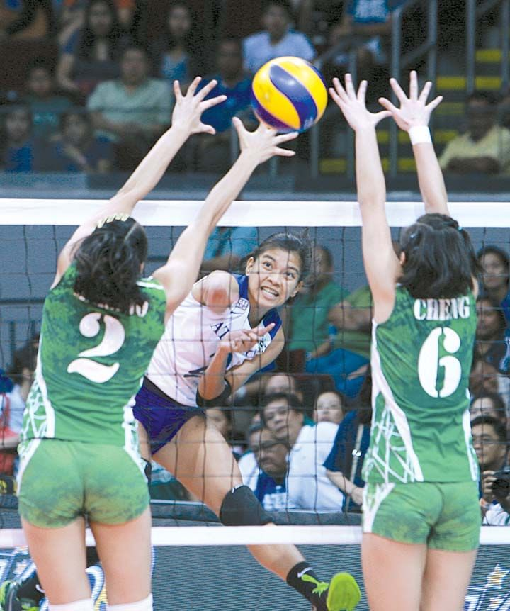Ateneo La Salle On Collision Course In Uaap Women S Volleyball Women Volleyball Volleyball Volleyball Players