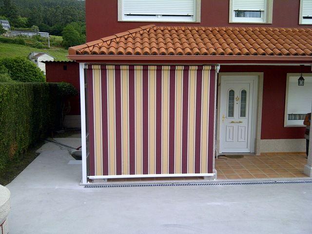 cortinas toldo para terrazas