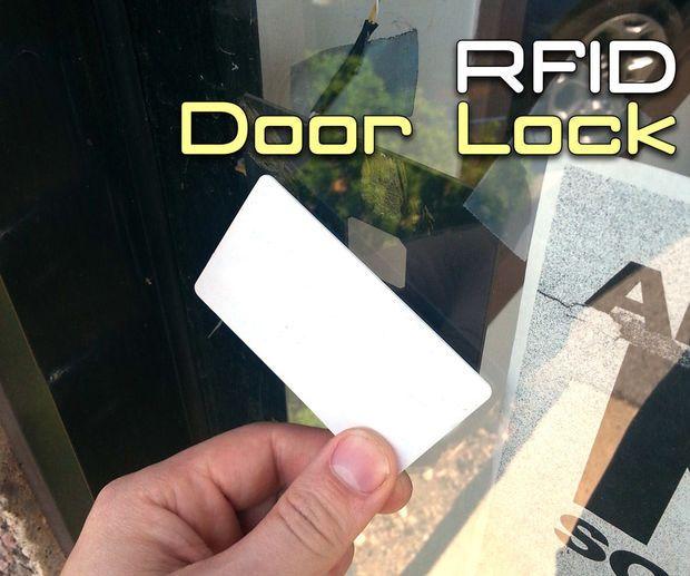 Rfid Door Lock With Arduino Door Locks Diy Security Arduino