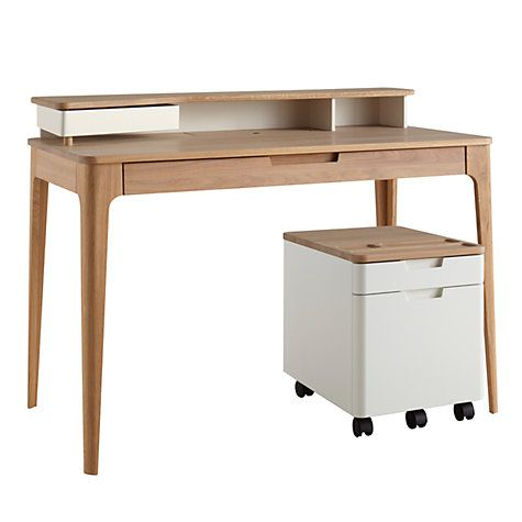 Buy Ebbe Gehl For John Lewis Mira Desk Filing Cabinet Online At Johnlewis