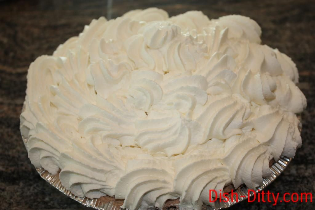 Top with Stabilized Whipped Cream