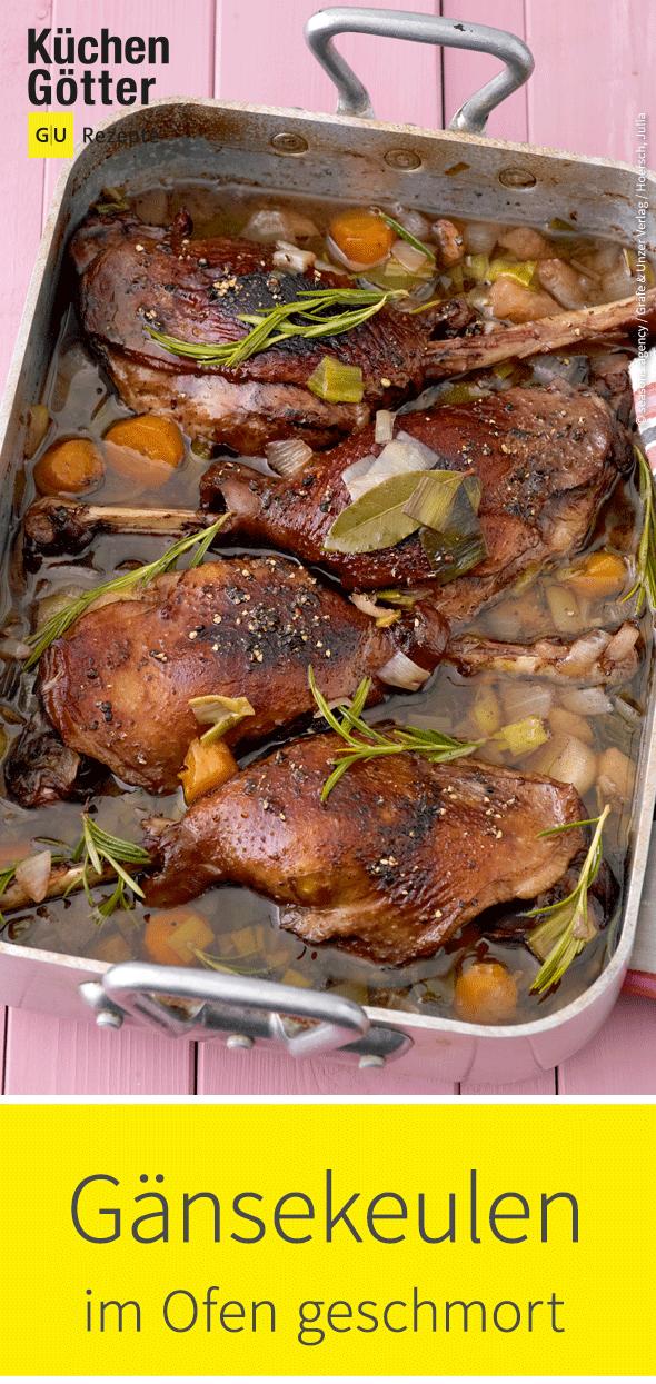geschmorte g nsekeulen rezept chicken turkey other birds schmoren fleisch gerichte und. Black Bedroom Furniture Sets. Home Design Ideas