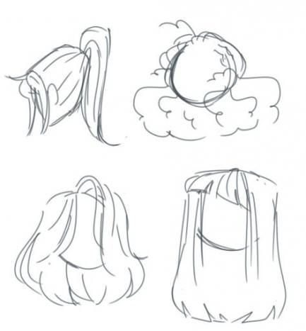 New drawing reference hair animation ideas #animationideas #new #drawing referencehairan