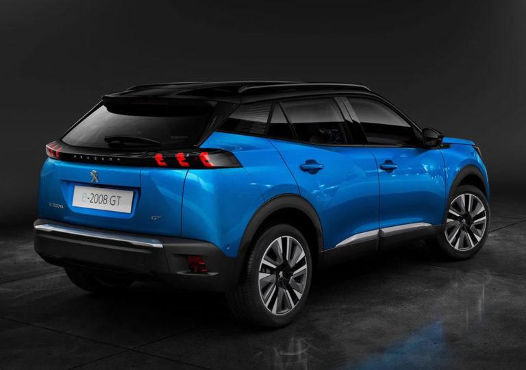 Elektrikli SUV 2020 Peugeot e2008 electric electriccars