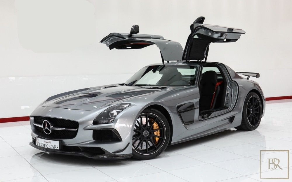 Mercedes Sls Amg Black Series 2014 Grey For Sale With Images