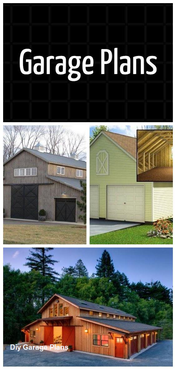 Diy Garage Plans In 2020 Diy Garage Plans Garage Plans Garage Plans Detached