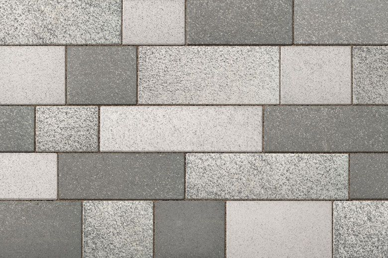 Artline Unilock Color 3 Color Blend Paving Texture