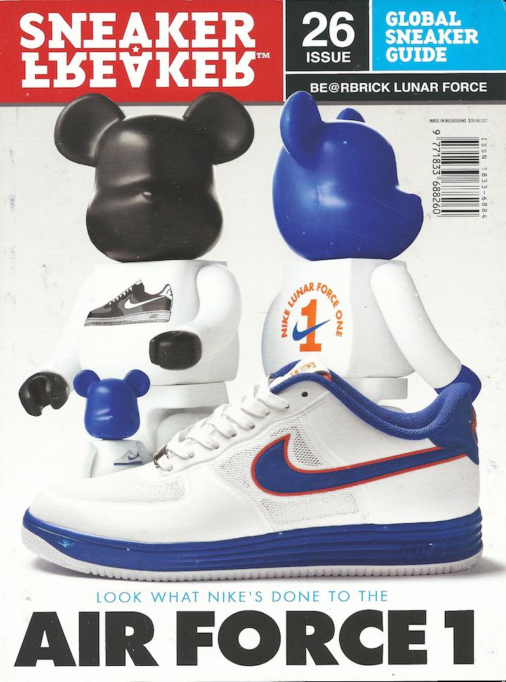 Sneaker Freaker Magazine Issue 26 Bearbrick Air