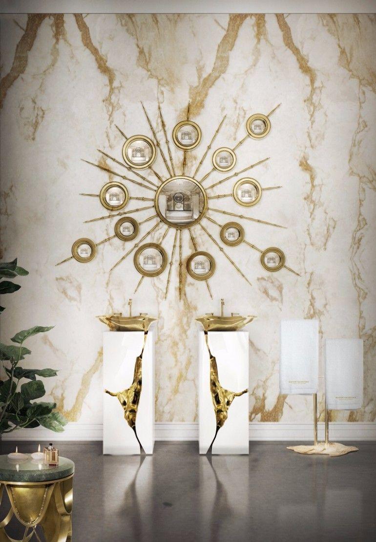 Inspired mirror design for the modern living room | www.bocadolobo.com #bocadolobo #luxuryfurniture #exclusivedesign #interiodesign #designideas #mirrorideas #mirrordesign #mirror