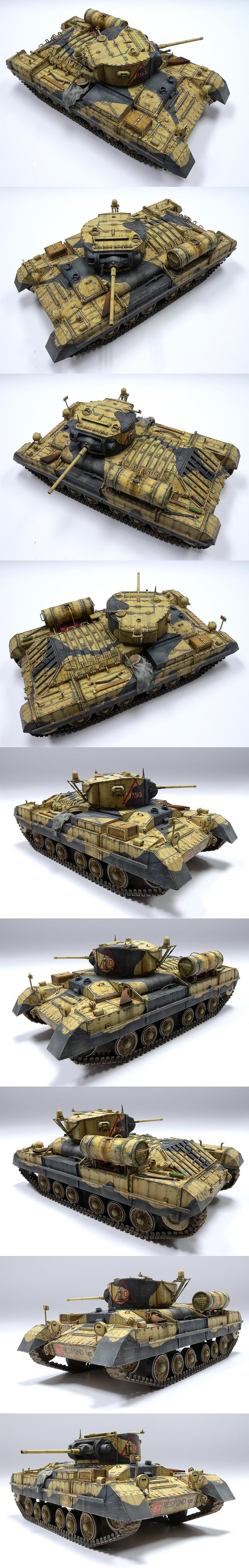Valentine II 1/35 Scale Model