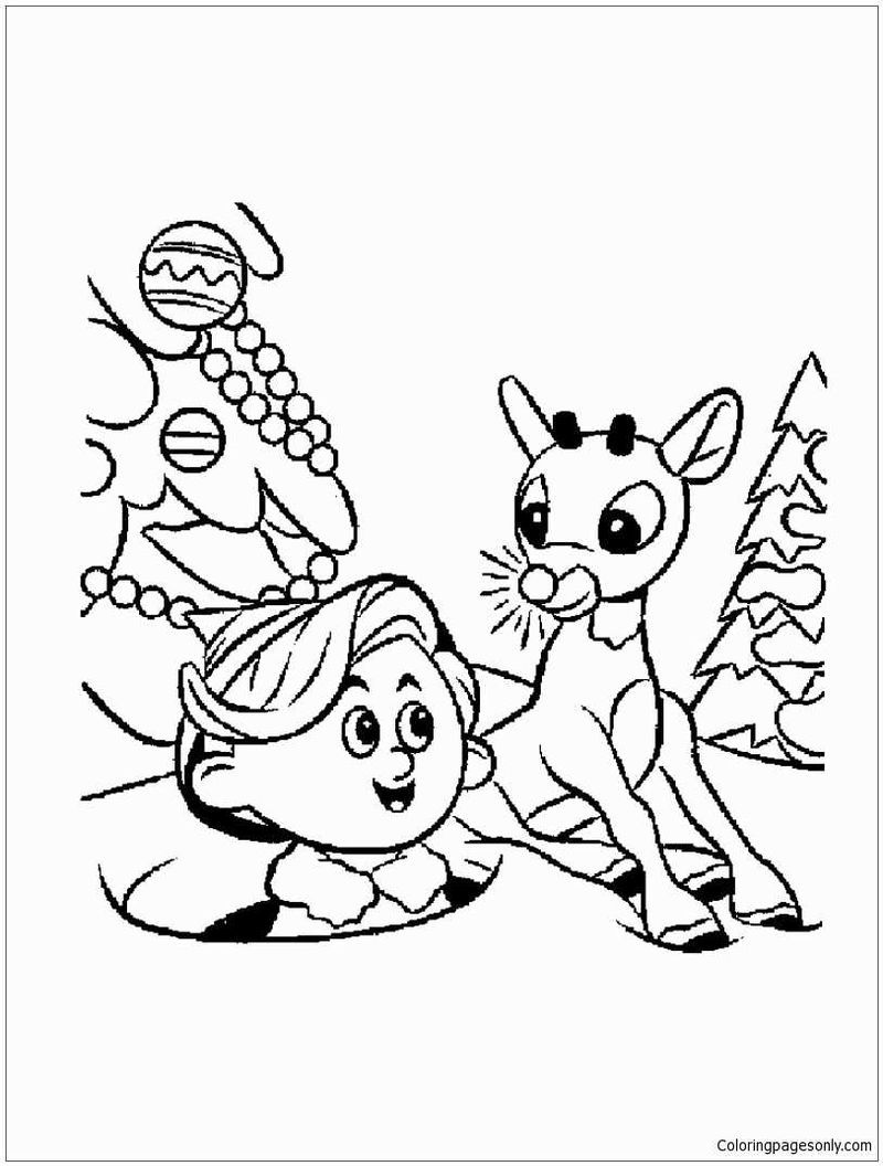 Elf Coloring Pages Printable Free Coloring Sheets