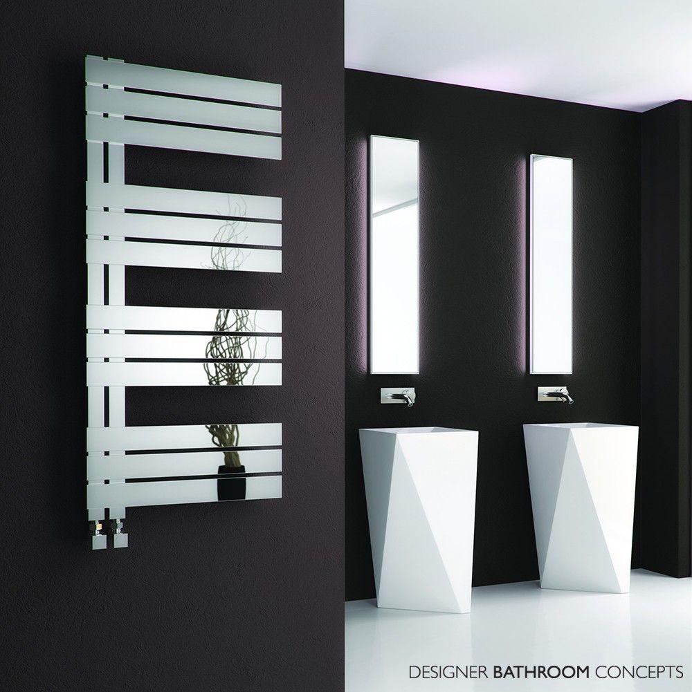 Ricadi Designer Stainless Steel Heated Towel Rails