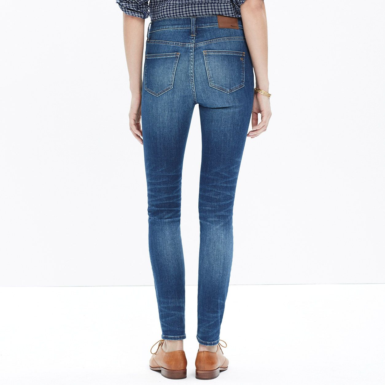 "9"" High Riser Skinny Skinny Jeans in Dayton Wash : our current favorites 