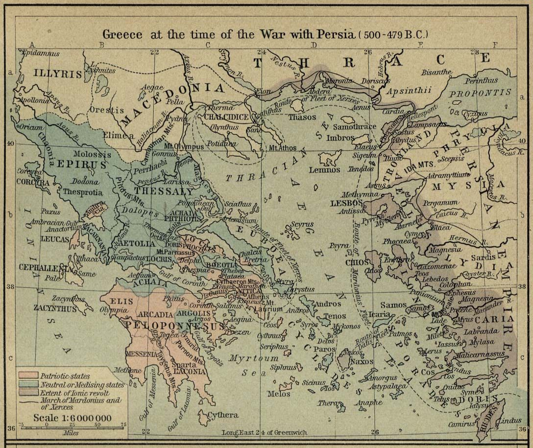 In depth map of greece during the persian war this would be the in depth map of greece during the persian war this would be the beginning of gumiabroncs Image collections