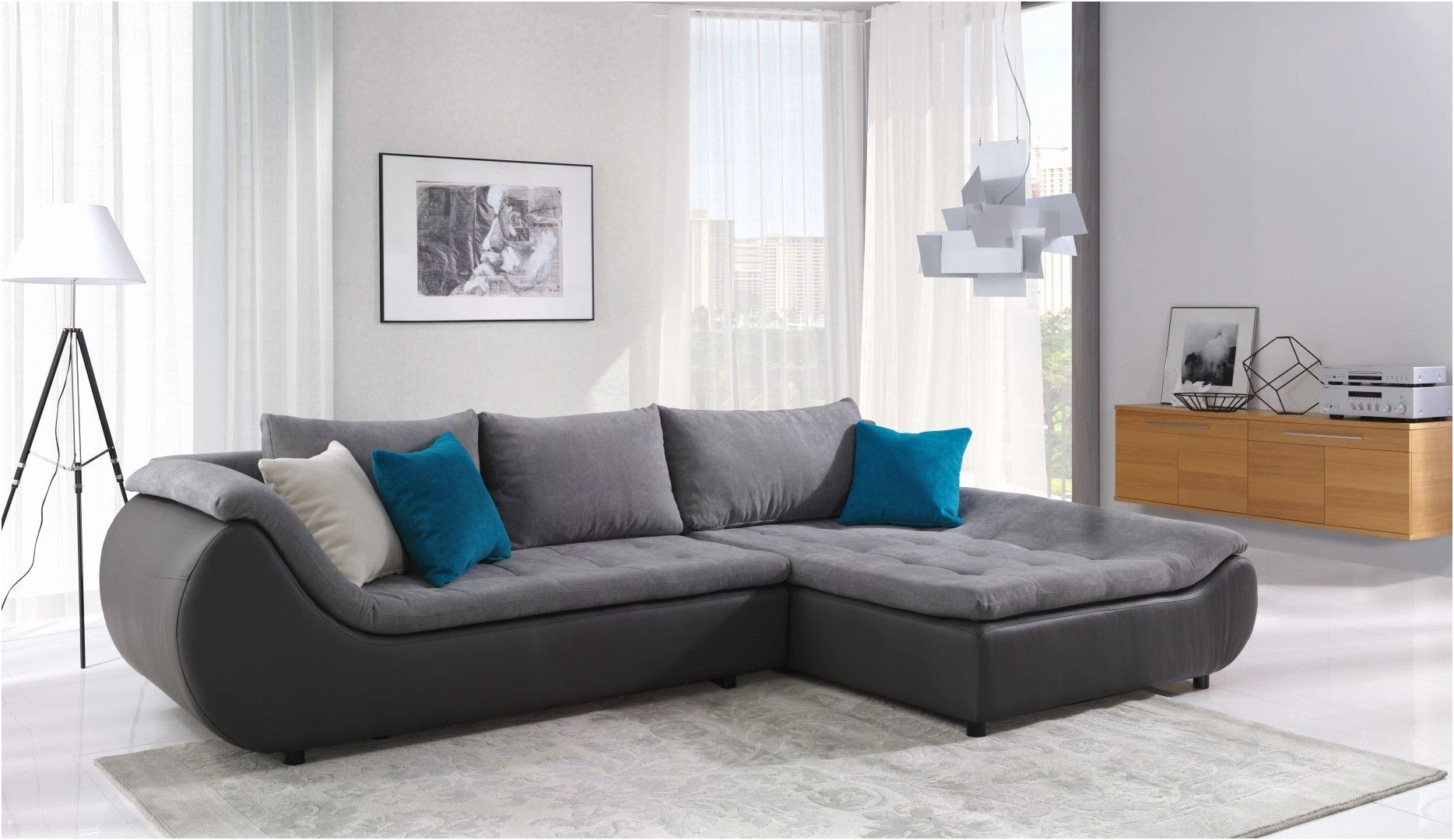 Wertvoll Sofa Mit Led Beleuchtung Und Sound