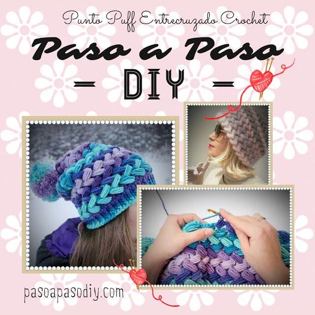 Sombreros de invierno - Paso a Paso | Sombreros, gorros ...
