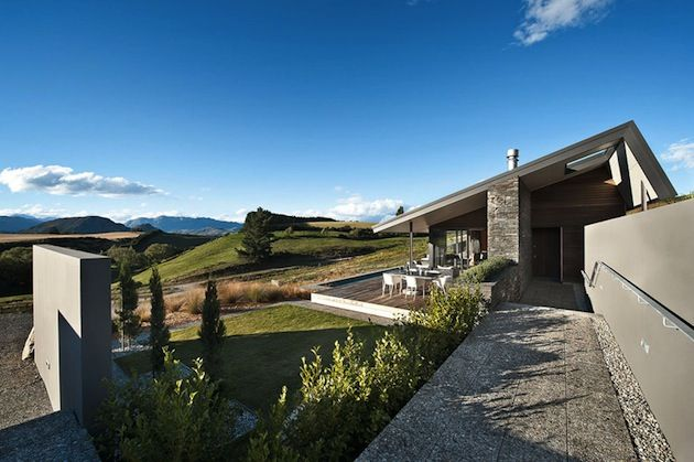 The marmol radziner architecture firm has completed  new private home in mt barker zealand hawkesbury residence by rises also best incredible images amazing rh pinterest