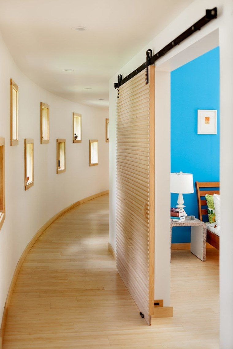 porte coulissante l gance et gain de place doors. Black Bedroom Furniture Sets. Home Design Ideas