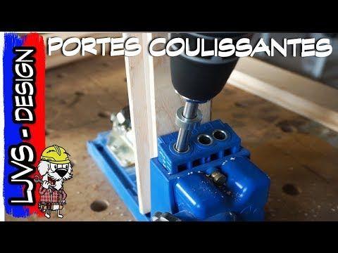 FABRICATION ET POSE DE PORTE COULISSANTE DESIGN - LJVS - YouTube