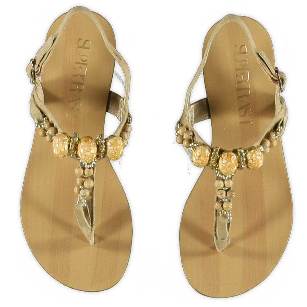 slippers | ... » SuperTrash meisjeskleding » Supertrash luxe slippers (va. 30