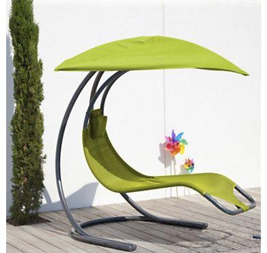 Transat Camif Transat Suspendu Zen Coloris Au Choix Purple Design Outdoor Outdoor Decor