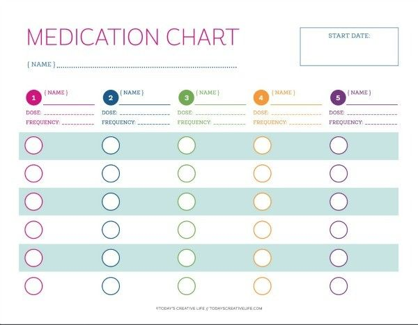 Pill Chart Template from i.pinimg.com