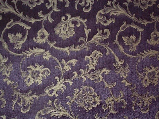 Royal Purple Jacquard Upholstery Fabric From Mill River