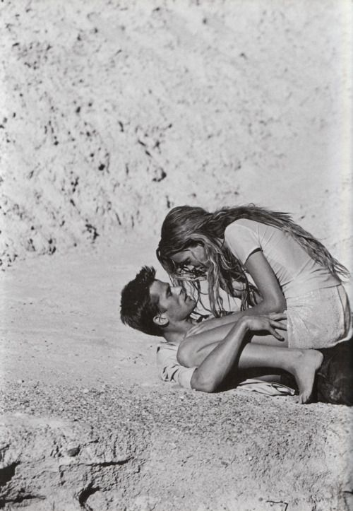 Wicked couple on the beach