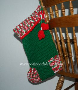 big christmas stocking sara sach posh pooch designs - Big Christmas Stockings