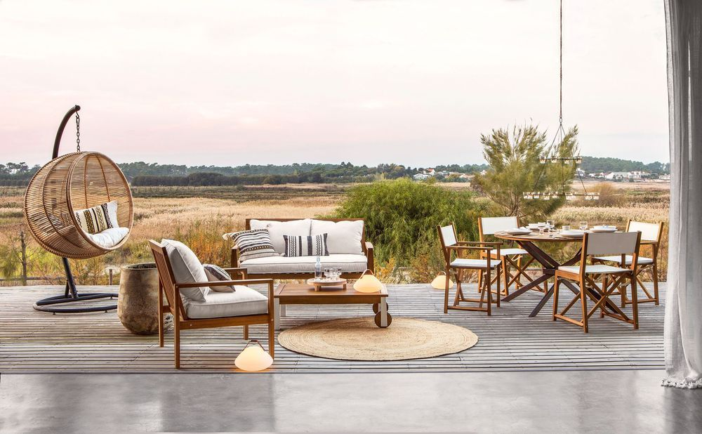 Am Pm La Redoute Nouvelle Collection Printemps Ete 2018 Salon De Jardin Design Mobilier Jardin Table Basse Jardin