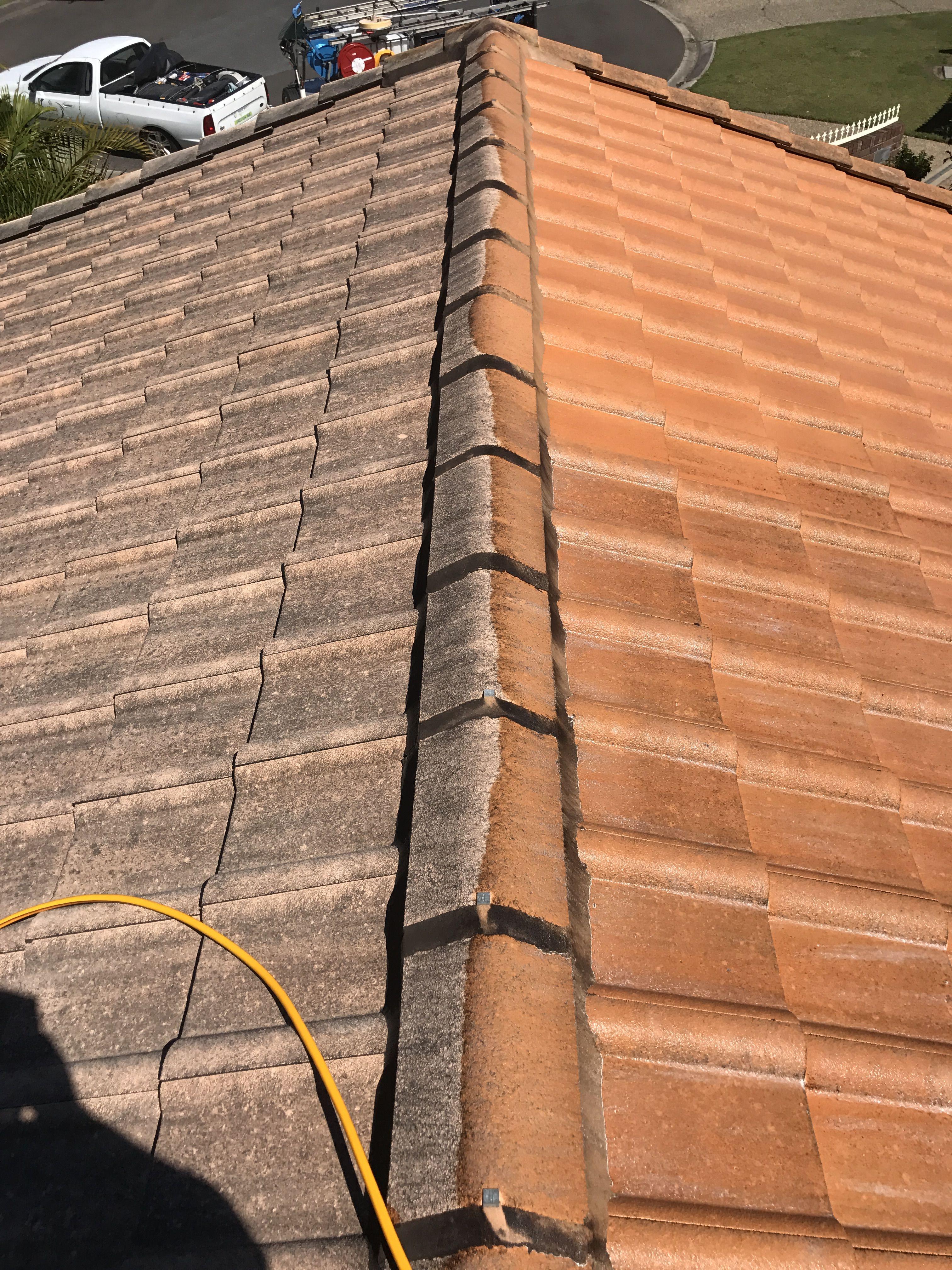 Soft Wash Roof No Pressure By Waterworx Roof Cleaning Ipswich Pressure Washing