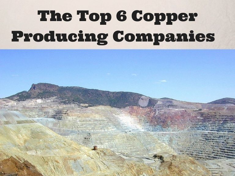 Abou Kalley shares a SlideShare of the top 6 copper producing companies in the world.