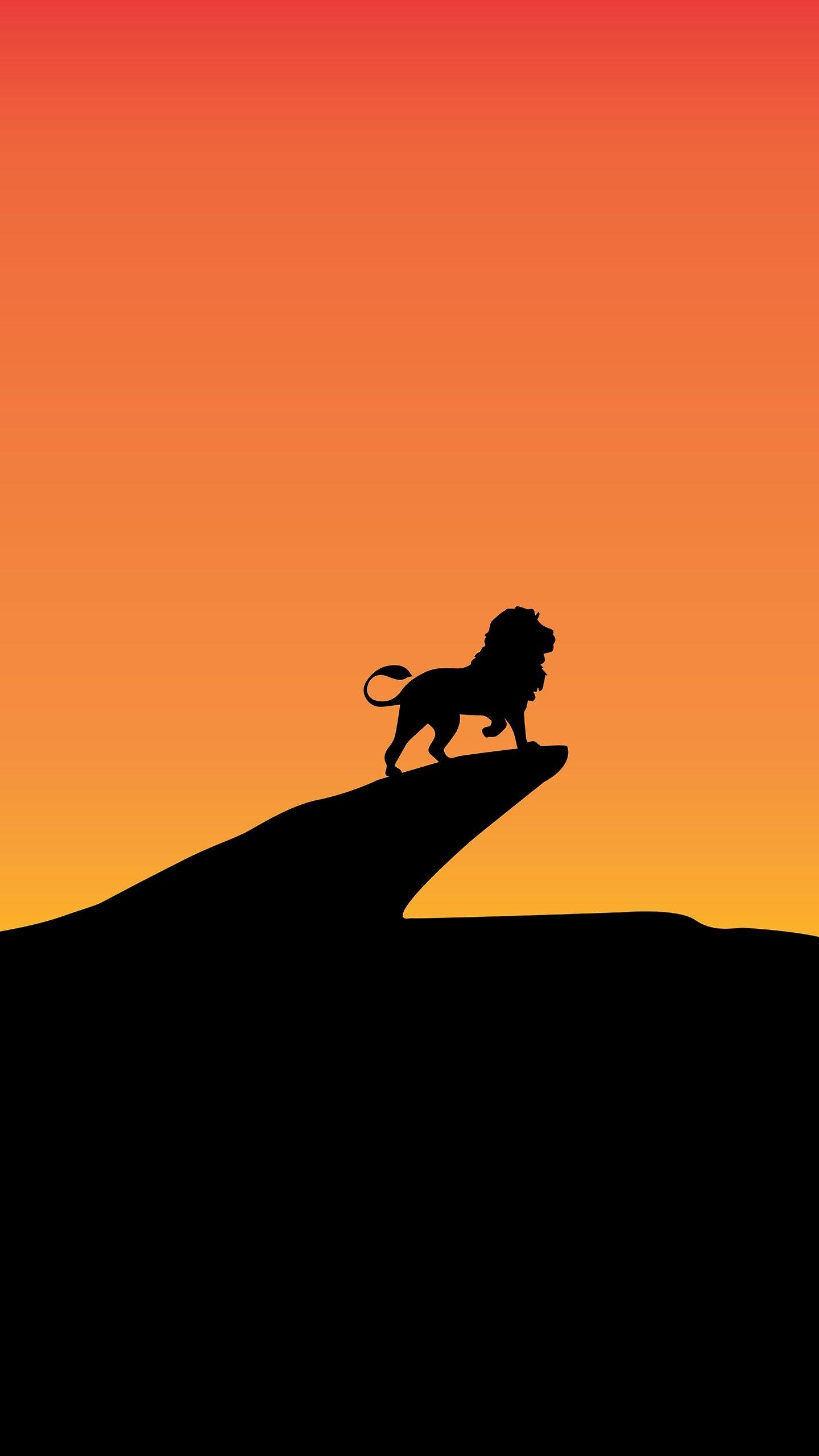 Misc Lion King Silhouette Minimal 4k 8k Wallpapers Lion Pictures Animal Wallpaper Minimal Wallpaper