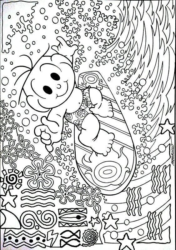 Turma da Monica | Atividades Escolares | Pinterest | Pintar ...