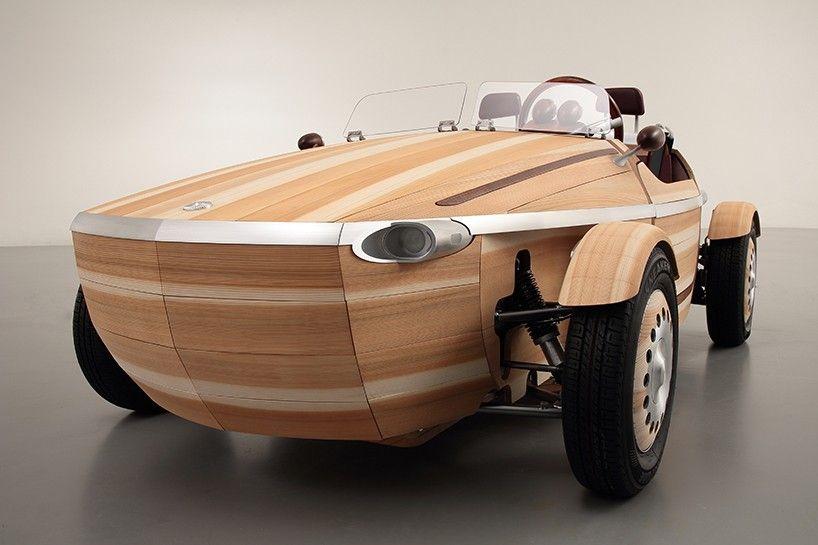 Holz Le Design toyota setsuna concept milan design week 2016 designboom 05 wood