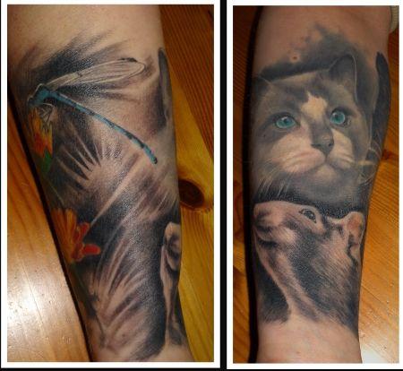 Tattoo-Foto: Sleeve still in Progress