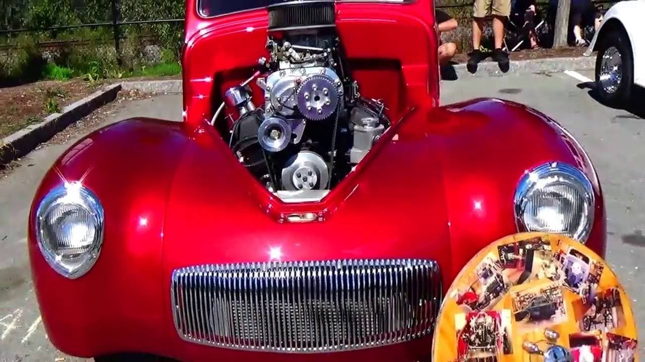 Cool 1941 Willey Coupe Red Hot Car | Videos | Pinterest | Hot cars ...