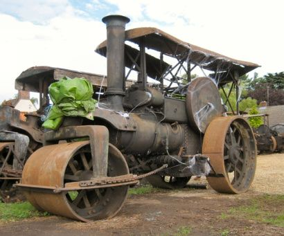 photos vintage steam rollers - Google Search