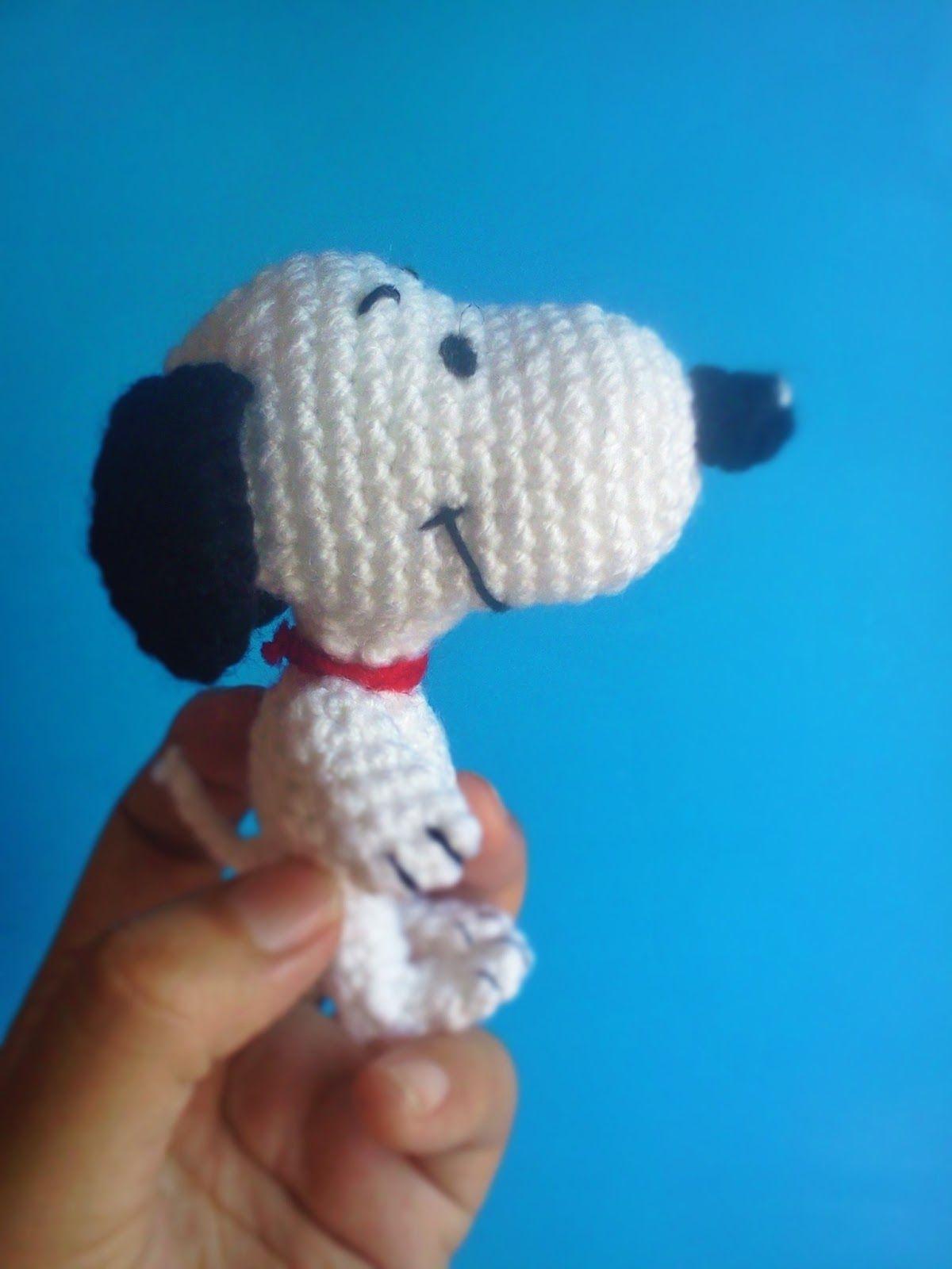 snoopy amigurumi gratis | 퍼나름 | Pinterest | Snoopy, Patrones ...