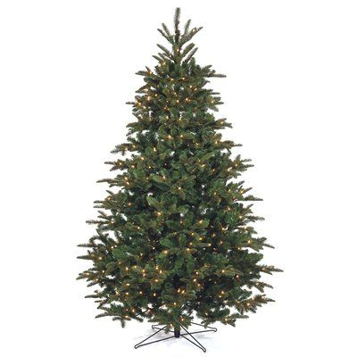 The Holiday Aisle 75\u0027 Green Fir Artificial Christmas Tree with