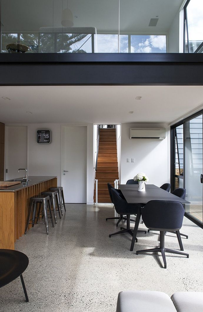 Daring Black Box Extension To A Heritage Workeru0027s Cottage In New Zealand. Dining  Room DesignDining Room FurnitureDining ...