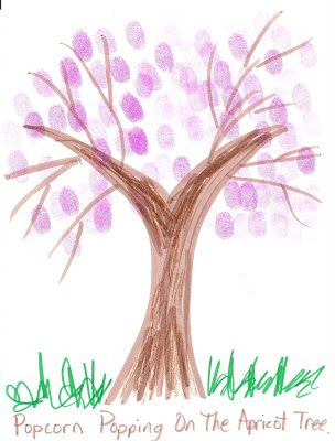 LDS Nursery Color Pages: 10 - I Am Thankful for Trees, Plants ...