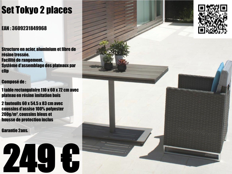 redoutable petit salon de jardin pour balcon pas cher | Décoration ...