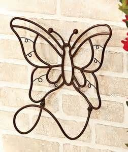 Wrought Iron Garden Hose Holder Wall