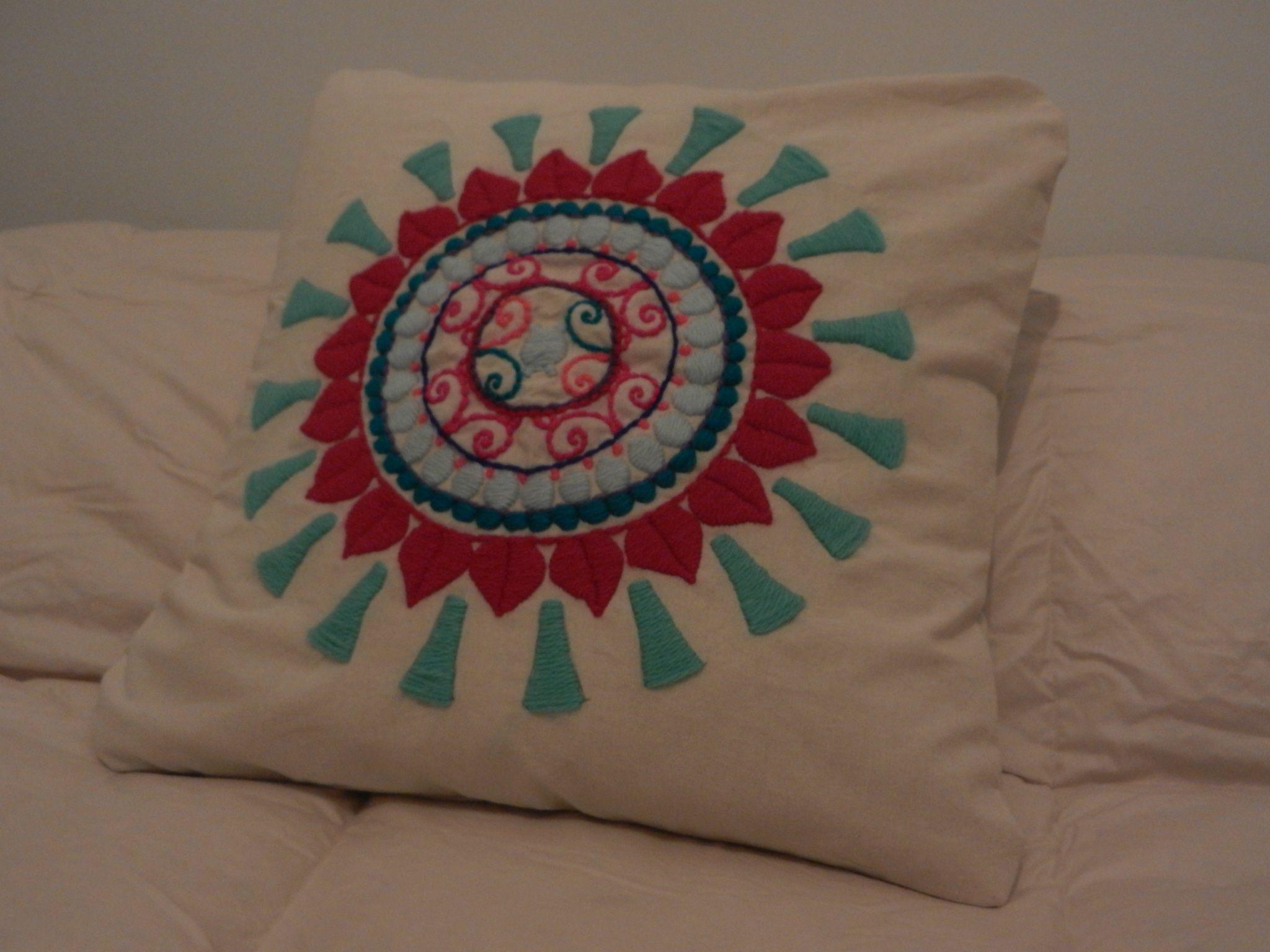 Como hacer bordados mexicanos a mano buscar con google - Como hacer cojines ...