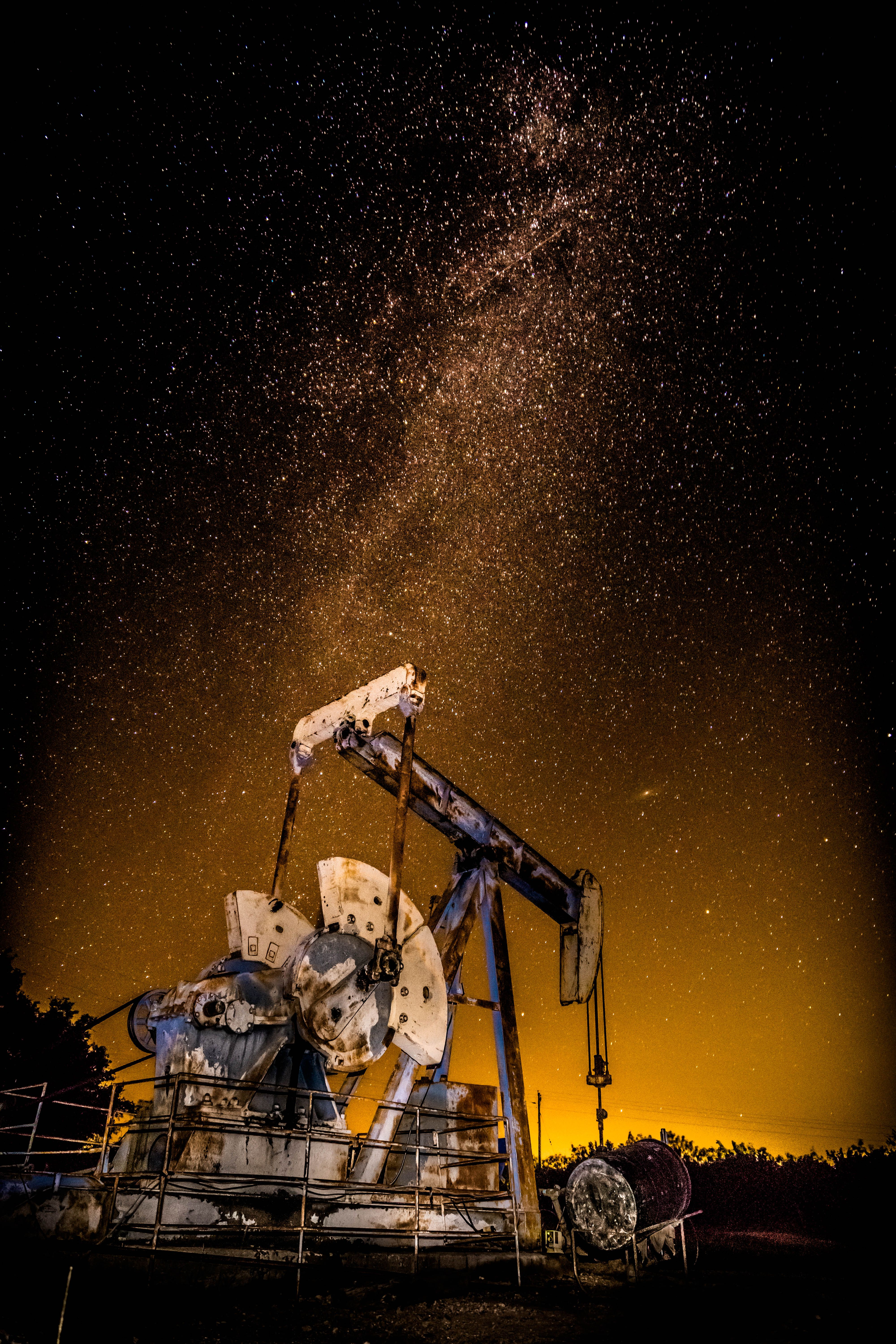 Pumpjack West Texas style! Industrial photography