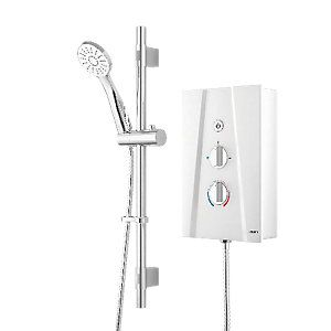 Wickes Hydro Ultra Electric Shower White 10 5kw Electric