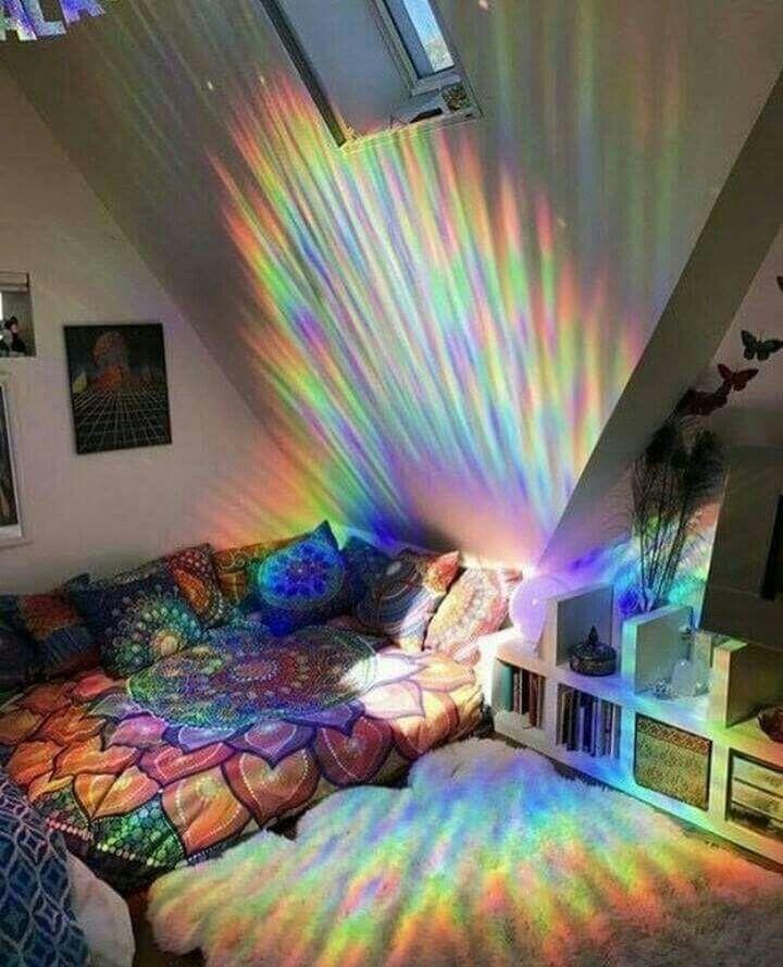 nice bedrooms u201cdharmawhimsy u201cmy rainbow sanctuary This is