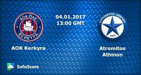 ΚΕΡΚΥΡΑ - ΑΤΡΟΜΗΤΟΣ  Kerkyra-Atromitos  live streaming