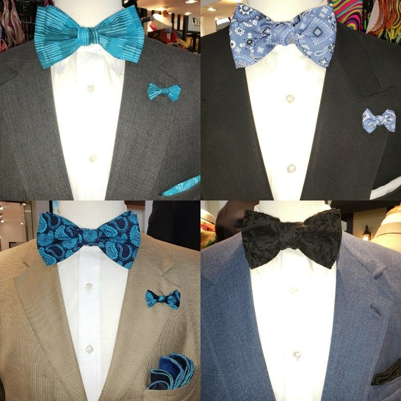 Newest Hand Made Bow Ties and Lapel Buttons now available at